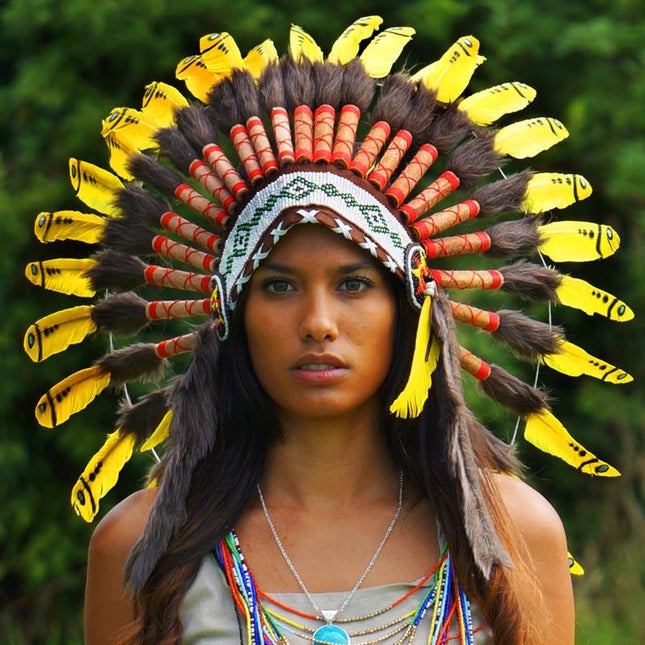 Yellow Chief Headress