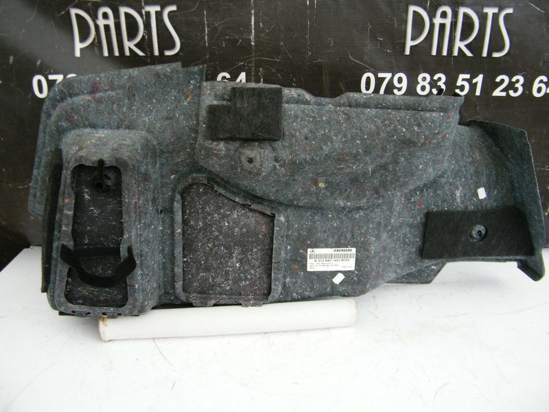 MERCEDES W212 E-CLASS 10-15 LINING COVER BOOT LID CARPET RIGHT PANEL A2126901441
