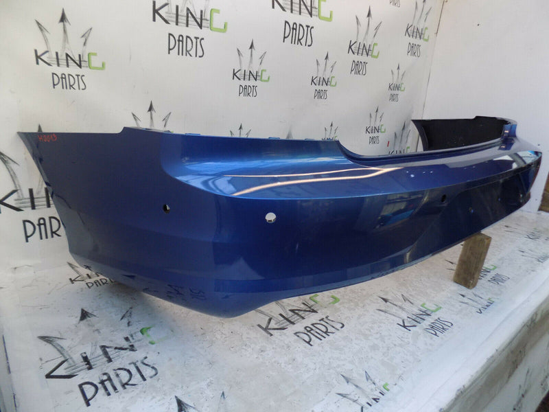 VOLVO S90 S 90 2016 2017 BLUE REAR BUMPER GENUINE 6x PDC 31383297