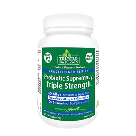 Tristar Probiotic Supremacy Triple Strength - 30 vcaps