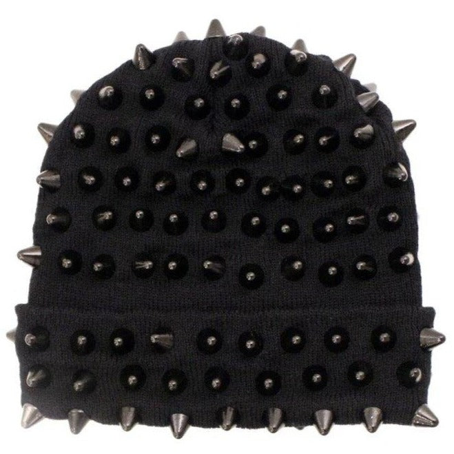StudMuffin NYC x 20g NY Robbery™ Beanie - Full Black Spike
