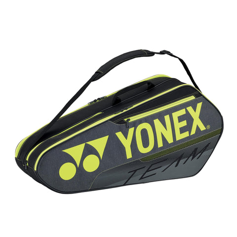 Yonex Team Series Badminton Bag Black (6pcs- Medium)