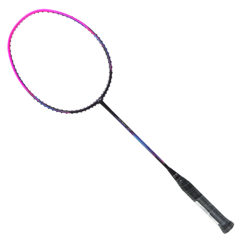 Li Ning Air Force 77 Lightweight Badminton Racquet (Pink)
