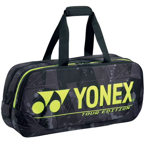 Yonex 2021 Pro Tournament Rectangular Racquet Bag (6pcs Black Yellow)