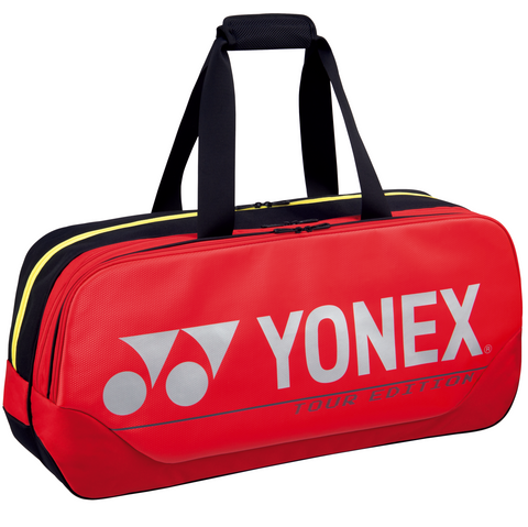 Yonex 2021 Pro Tournament Rectangular Racquet Bag (6pcs Red)