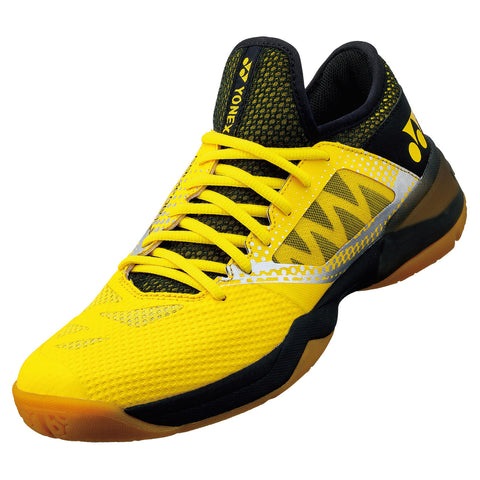 2021 NEW Yonex Power Cushion Comfort Z 2 Men Badminton Shoes (Black/Yellow)