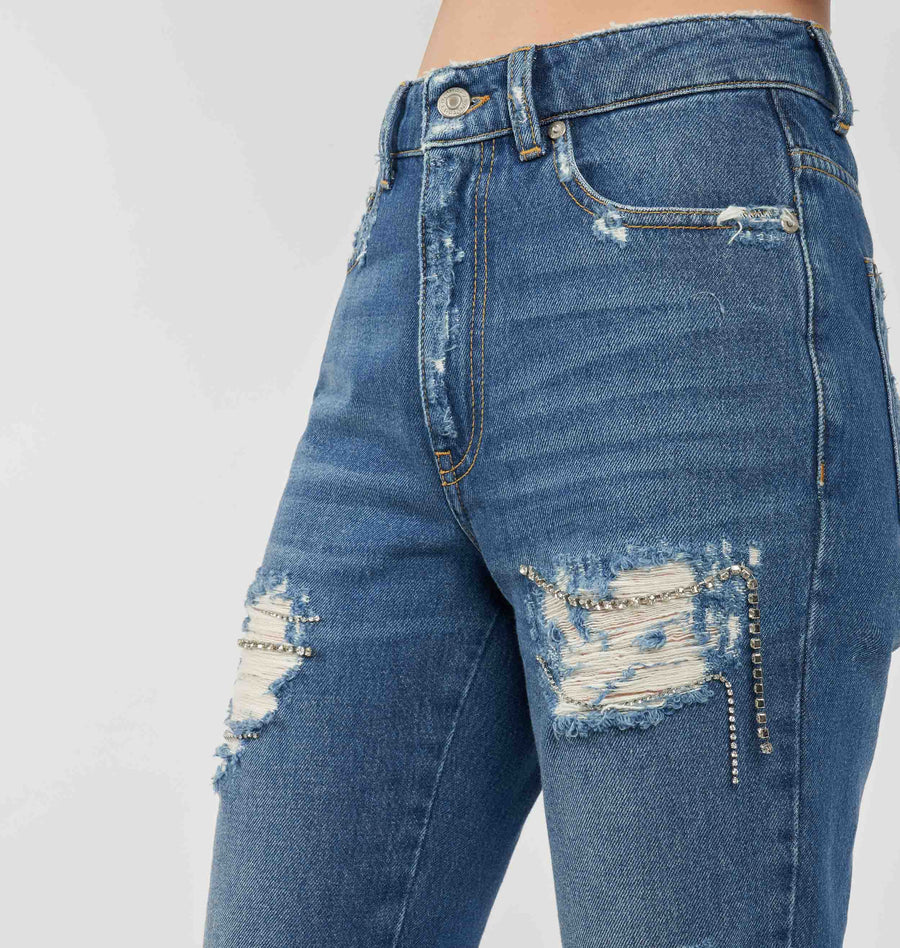 DESTROYED JEANS REGULAR