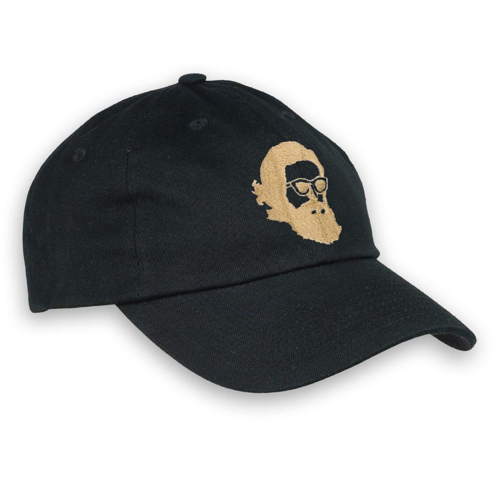 Misty Face Embroidered Dad Hat