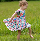 Serenity Twirl™ Dress - Floral Paradise