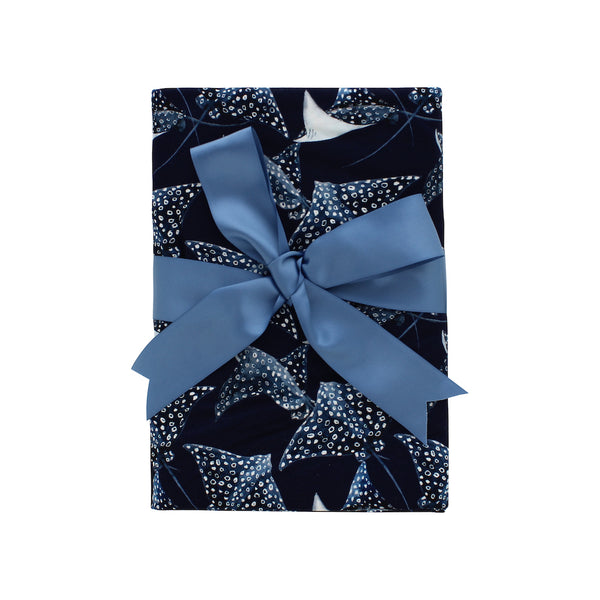 Double Sided Blanket - Pacific Blue