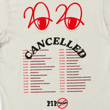 Afbeelding in Gallery-weergave laden, PIP '2020 CANCELLED' T-SHIRT | OFF-WHITE