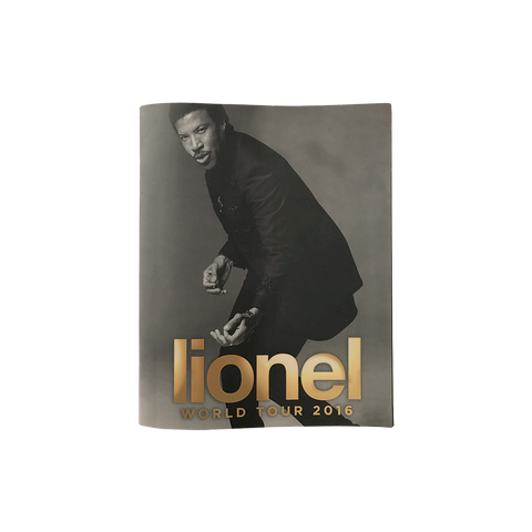 Lionel World Tour 2016 Program