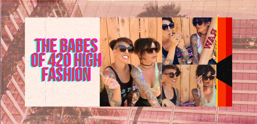 The Babes Of 420 High Fashion Only Gramz 420