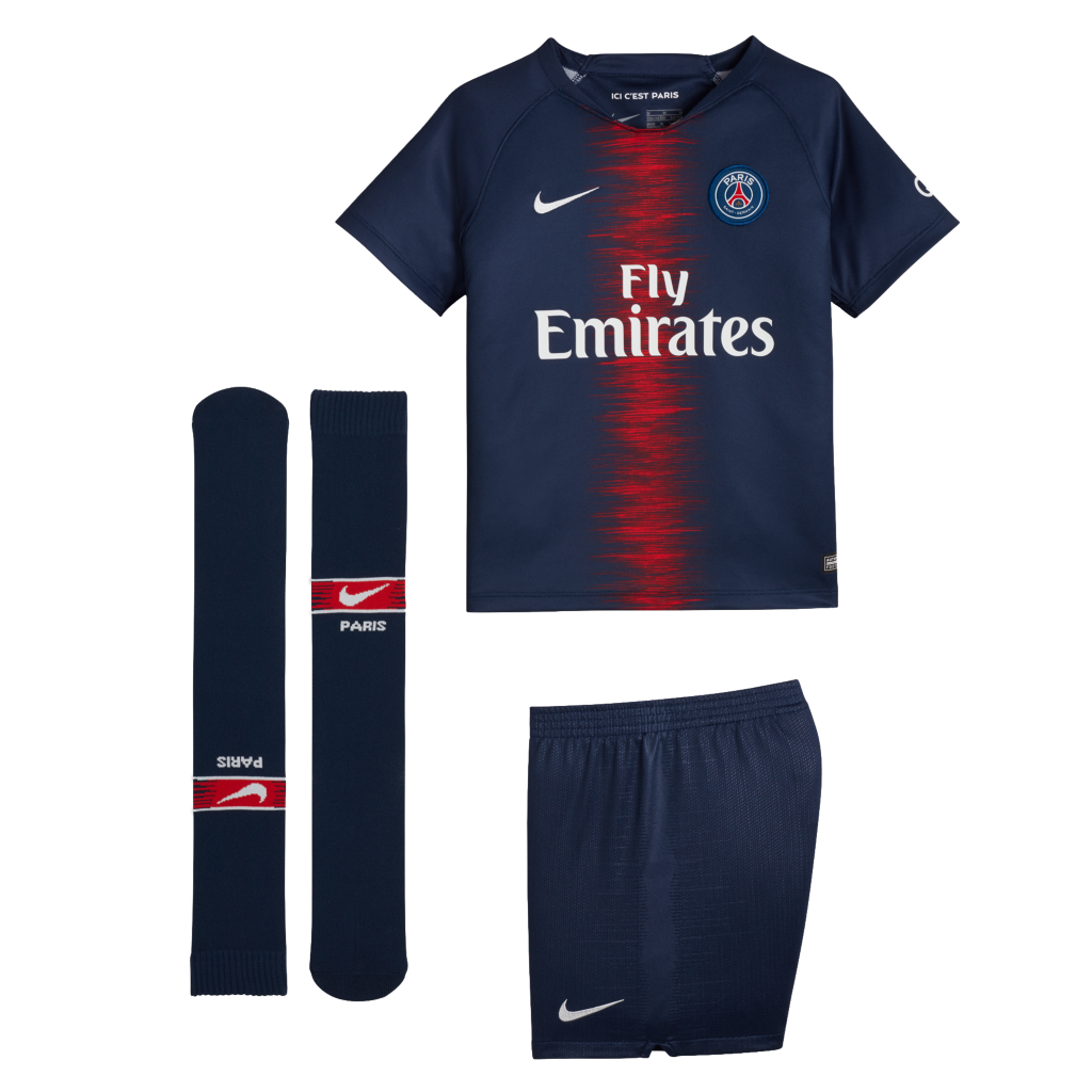 TENUE DE FOOTBALL PARIS SAINT-GERMAIN JUNIOR 18/19 freeshipping - Foot Online