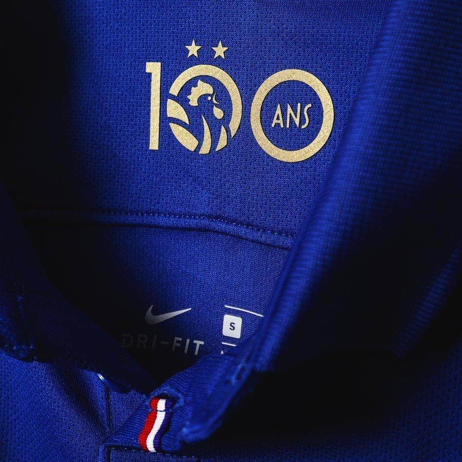Maillot Centenaire Equipe de France FFF 2 étoiles 2020 Homme freeshipping - Foot Online