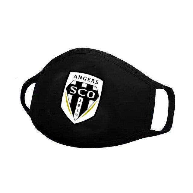 Angers SCO Masque Foot 2020 Ligue 1 freeshipping - Foot Online