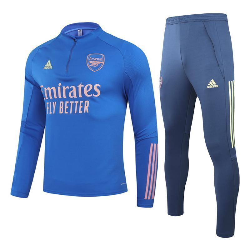 Survetement Arsenal Adidas Bleu 2021 Enfant Foot Online freeshipping - Foot Online