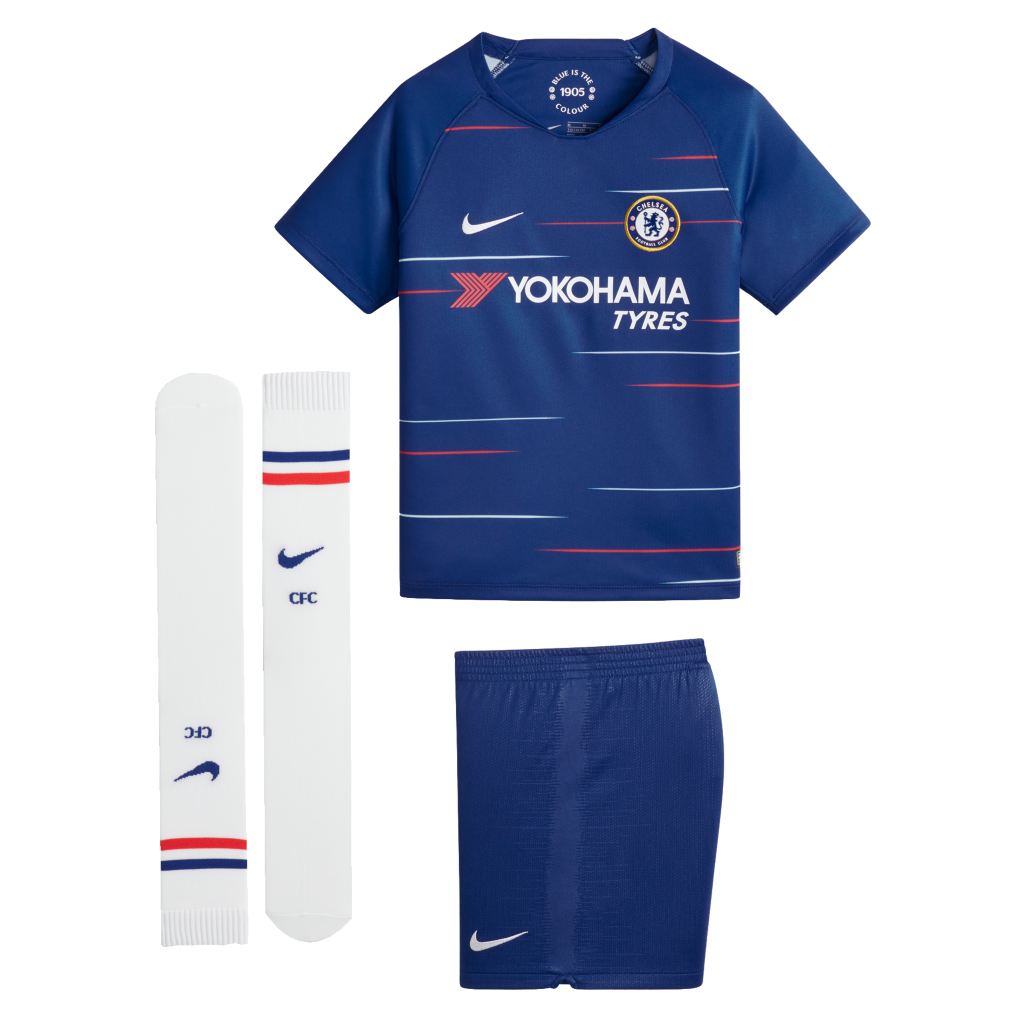 TENUE DE FOOTBALL CHELSEA FC STADIUM JUNIOR 2018/19 freeshipping - Foot Online
