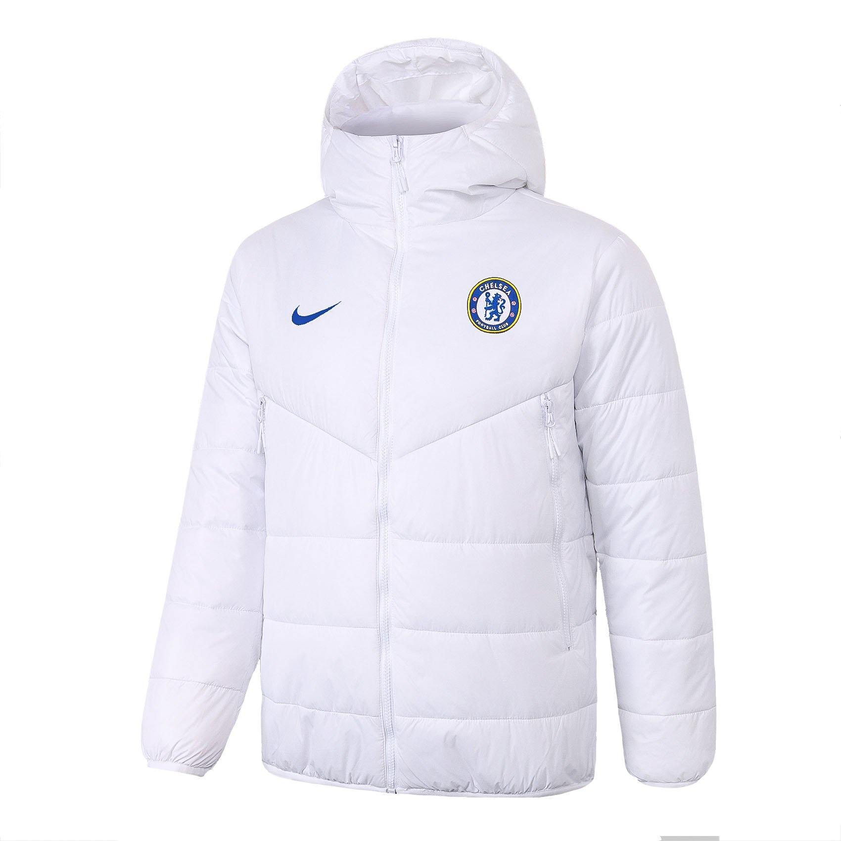 Doudoune Chelsea Nike Blanche 2021 Homme Foot Online freeshipping - Foot Online
