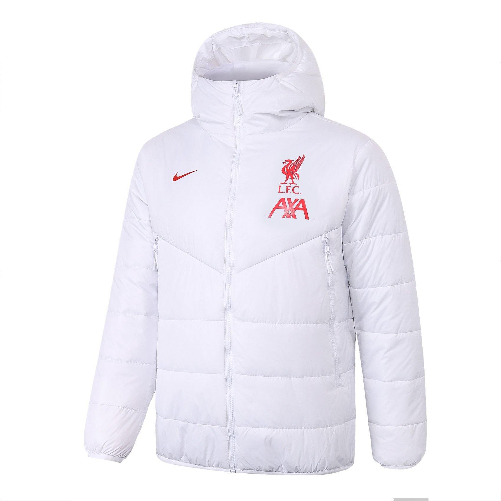 Doudoune Liverpool Nike Blanc 2021 Homme freeshipping - Foot Online
