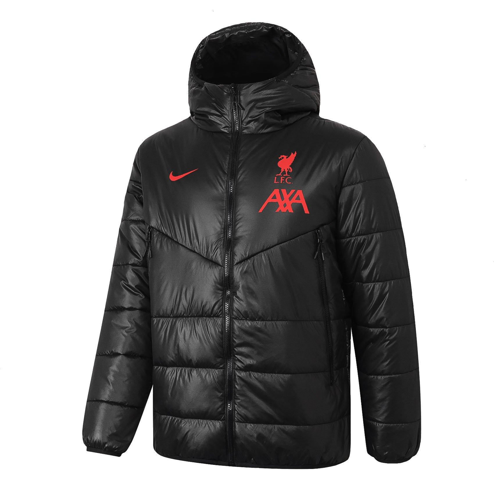 Doudoune Liverpool LFC Nike Rouge 2021 Homme freeshipping - Foot Online
