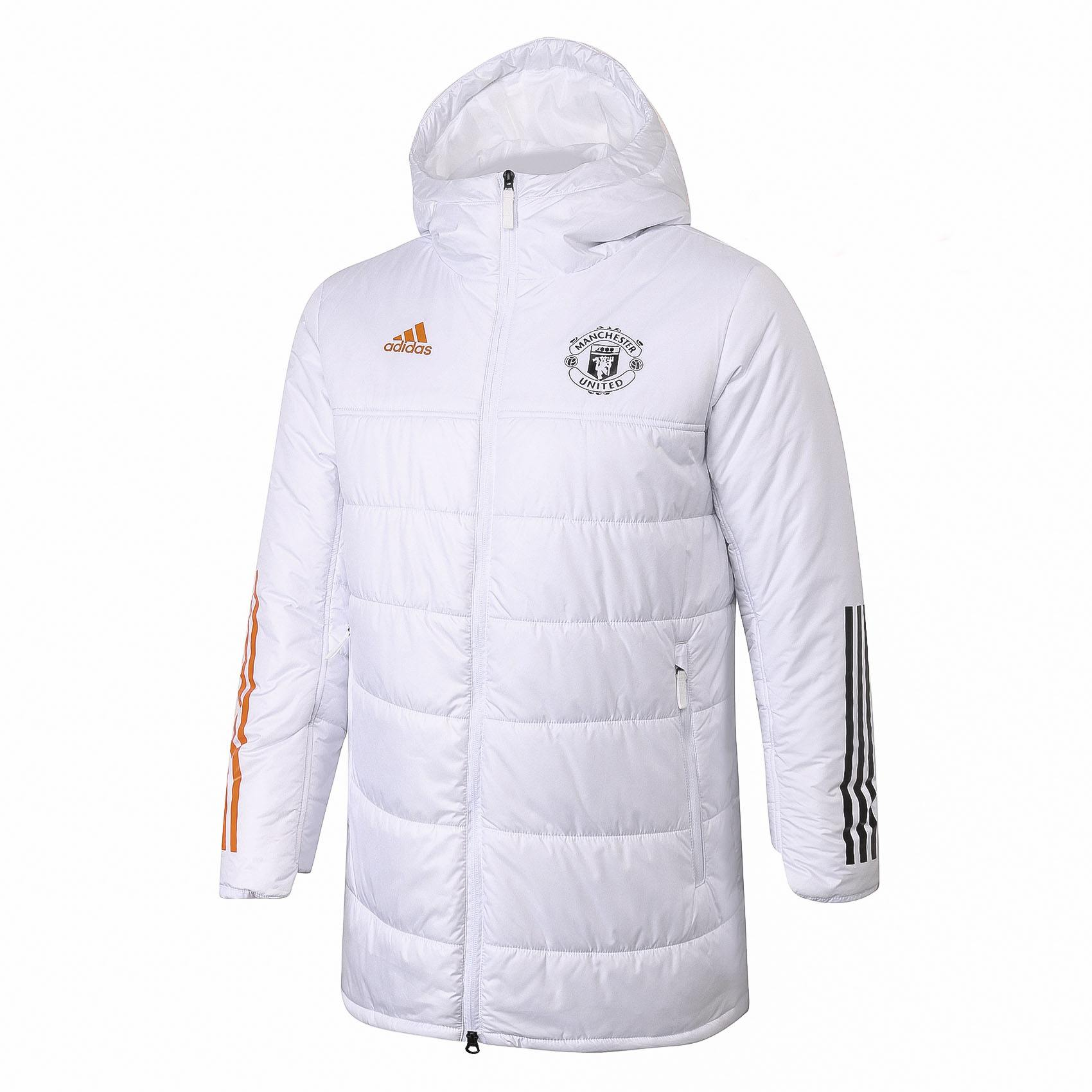 Doudoune Manchester United Adidas Blanche 2021 freeshipping - Foot Online