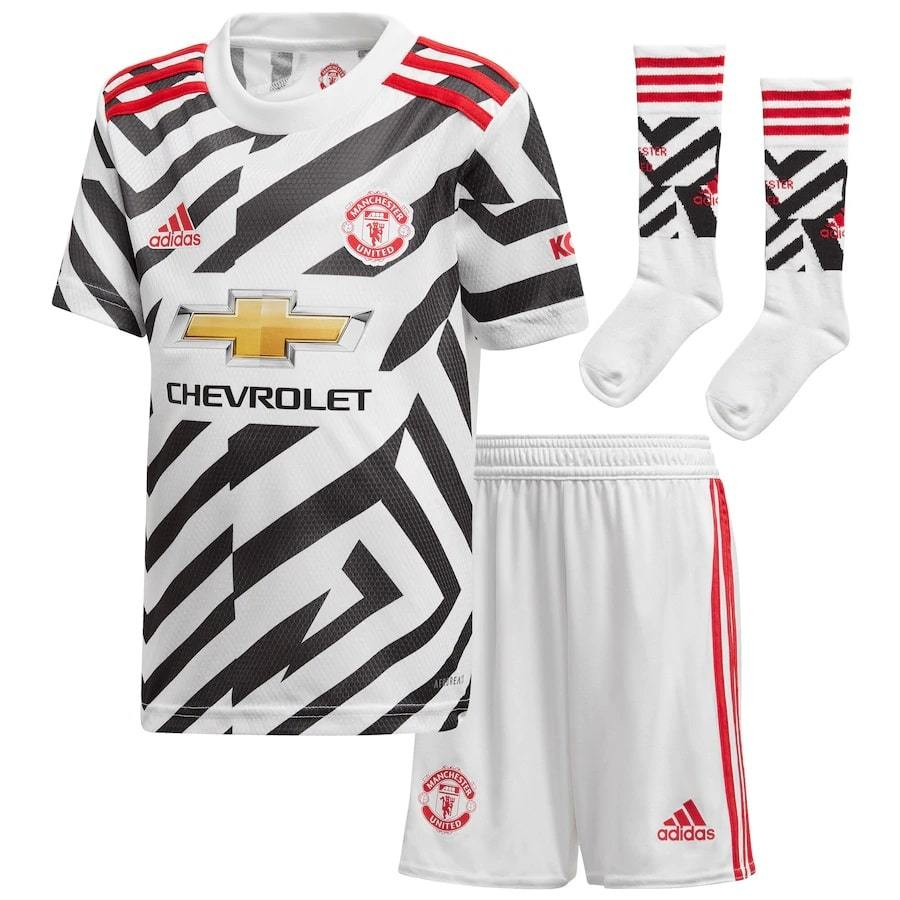 Maillot Kit Manchester United 2020 2021 - Enfant freeshipping - Foot Online