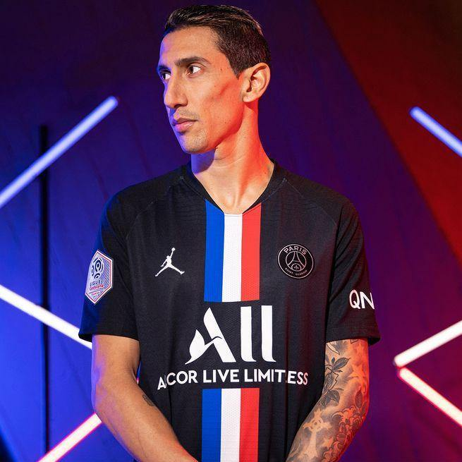 Maillot PSG x Jordan Fourth 2020 Homme freeshipping - Foot Online