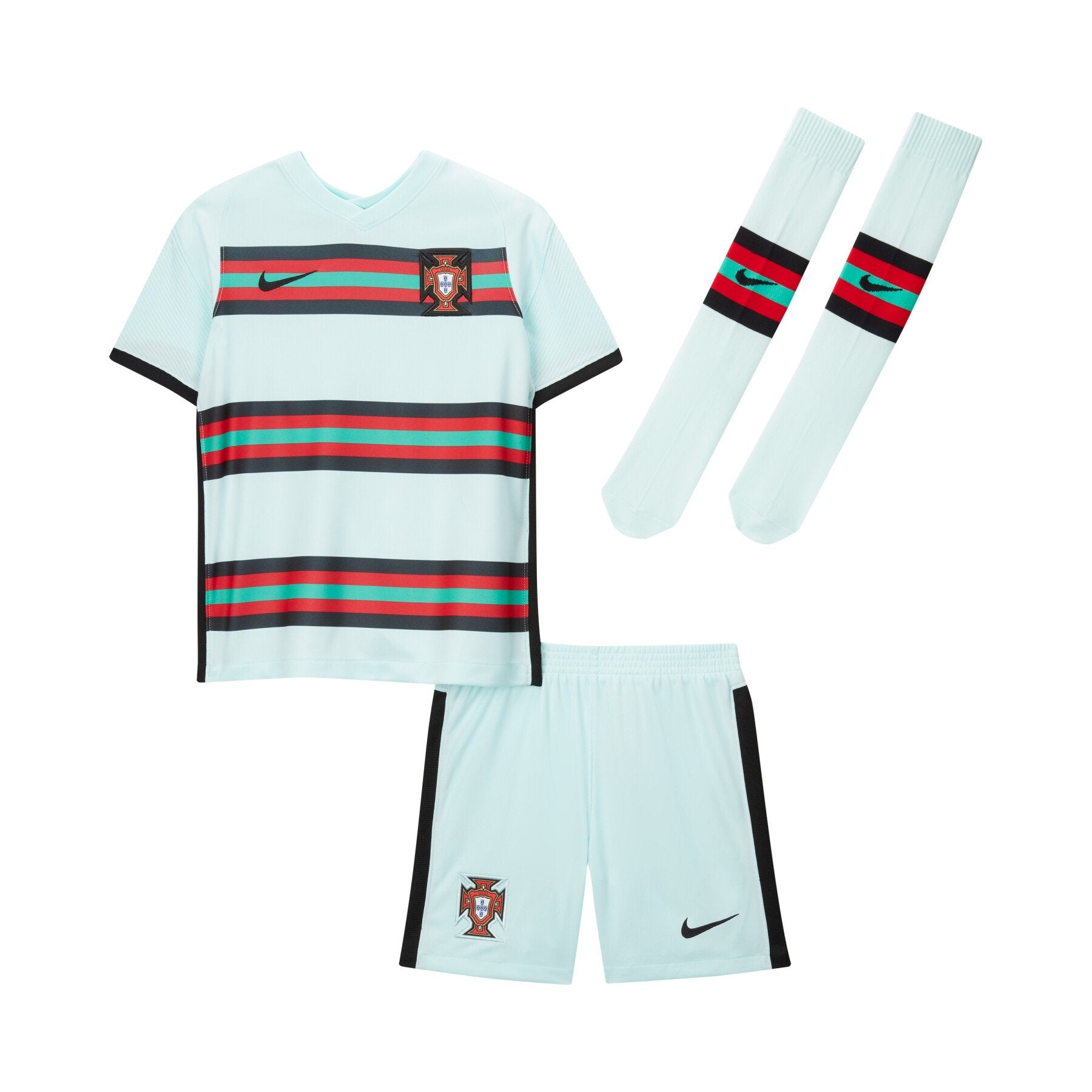 Maillot Kit Portugal Extérieur Vert 2020 2021 - Enfant freeshipping - Foot Online