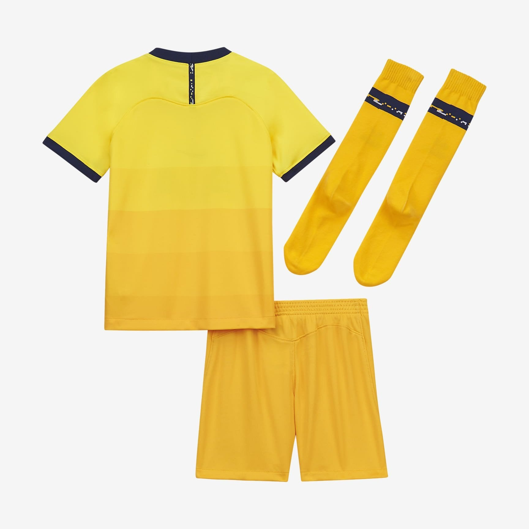 Maillot Kit Tottenham Third Jaune 2020 2021 - Enfant freeshipping - Foot Online