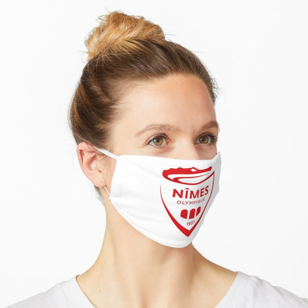 Nimes Olympique Masque Football 2020 Ligue 1 freeshipping - Foot Online