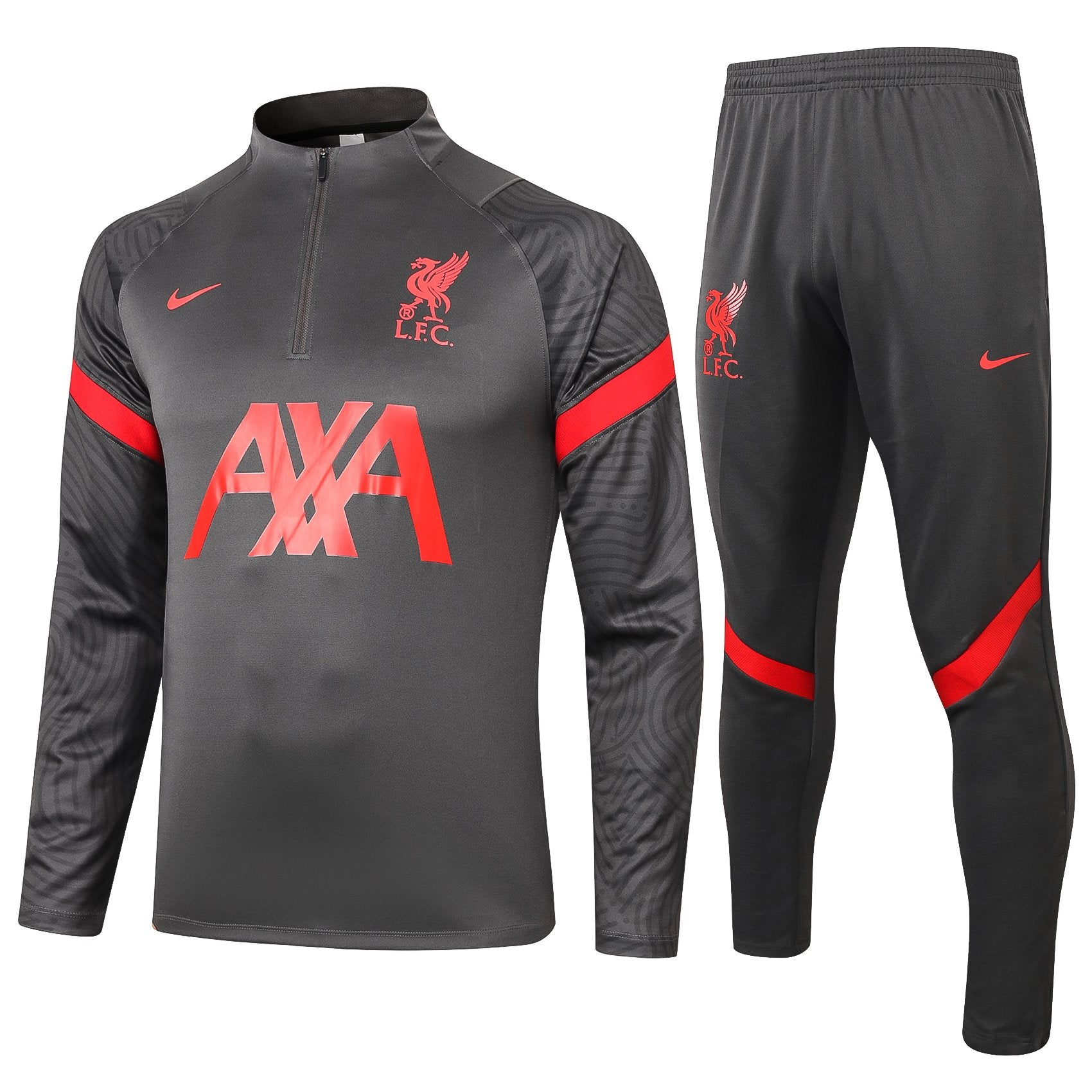 Survetement Liverpool Nike Gris 2021 Homme Foot Online freeshipping - Foot Online