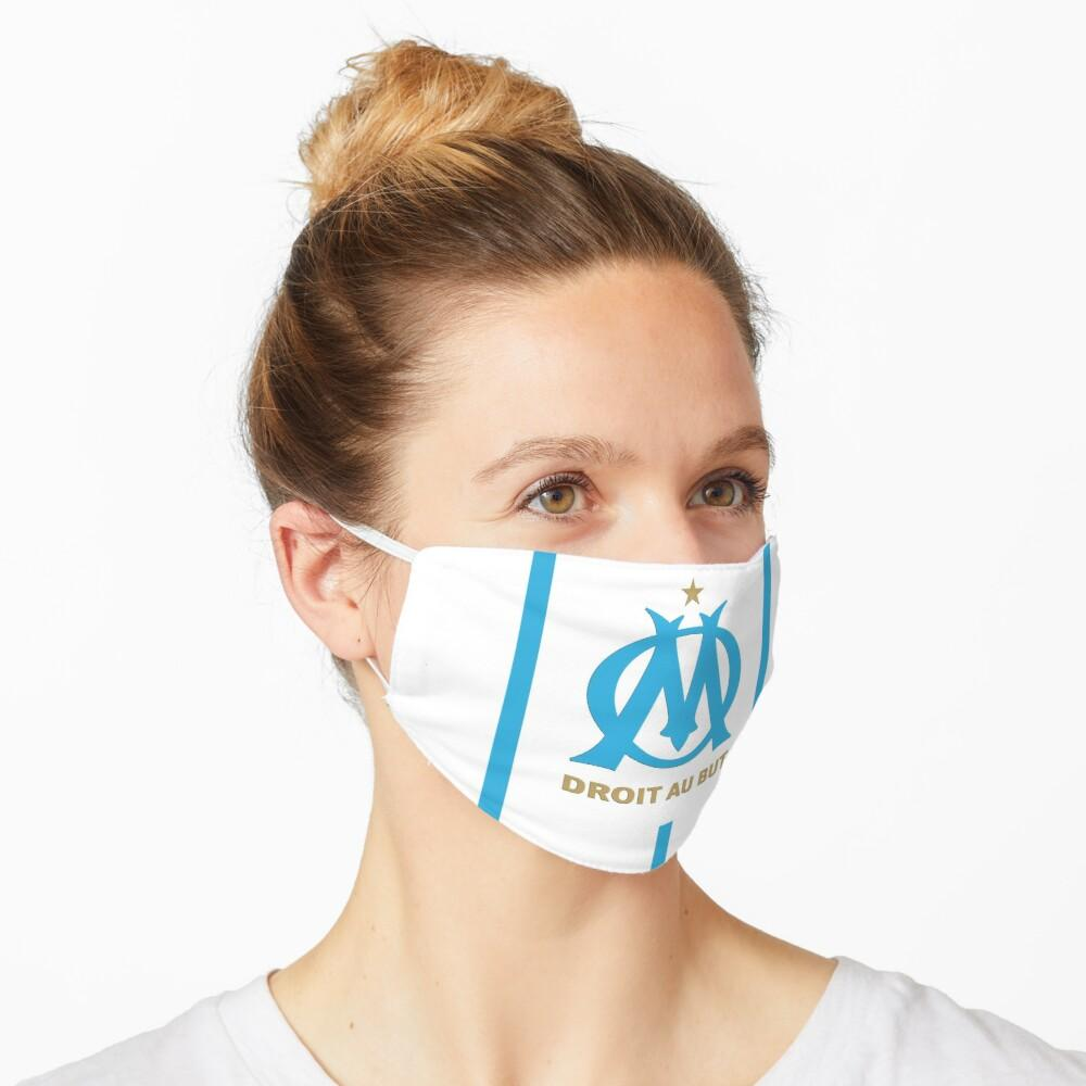 OLYMPIQUE DE MARSEILLE OM MASQUE 2020 FOOT BLANC freeshipping - Foot Online