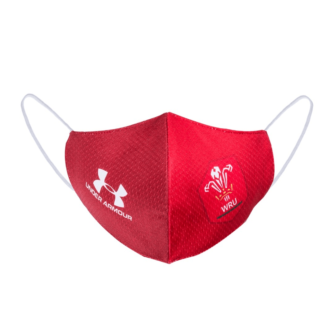 Pays de Galles Masque de Rugby 2020 Under Armour freeshipping - Foot Online