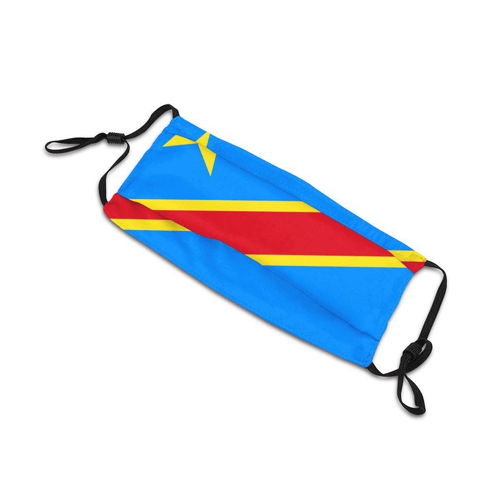Congo RDC Masque Drapeau 2020 Adulte/Enfant freeshipping - Foot Online