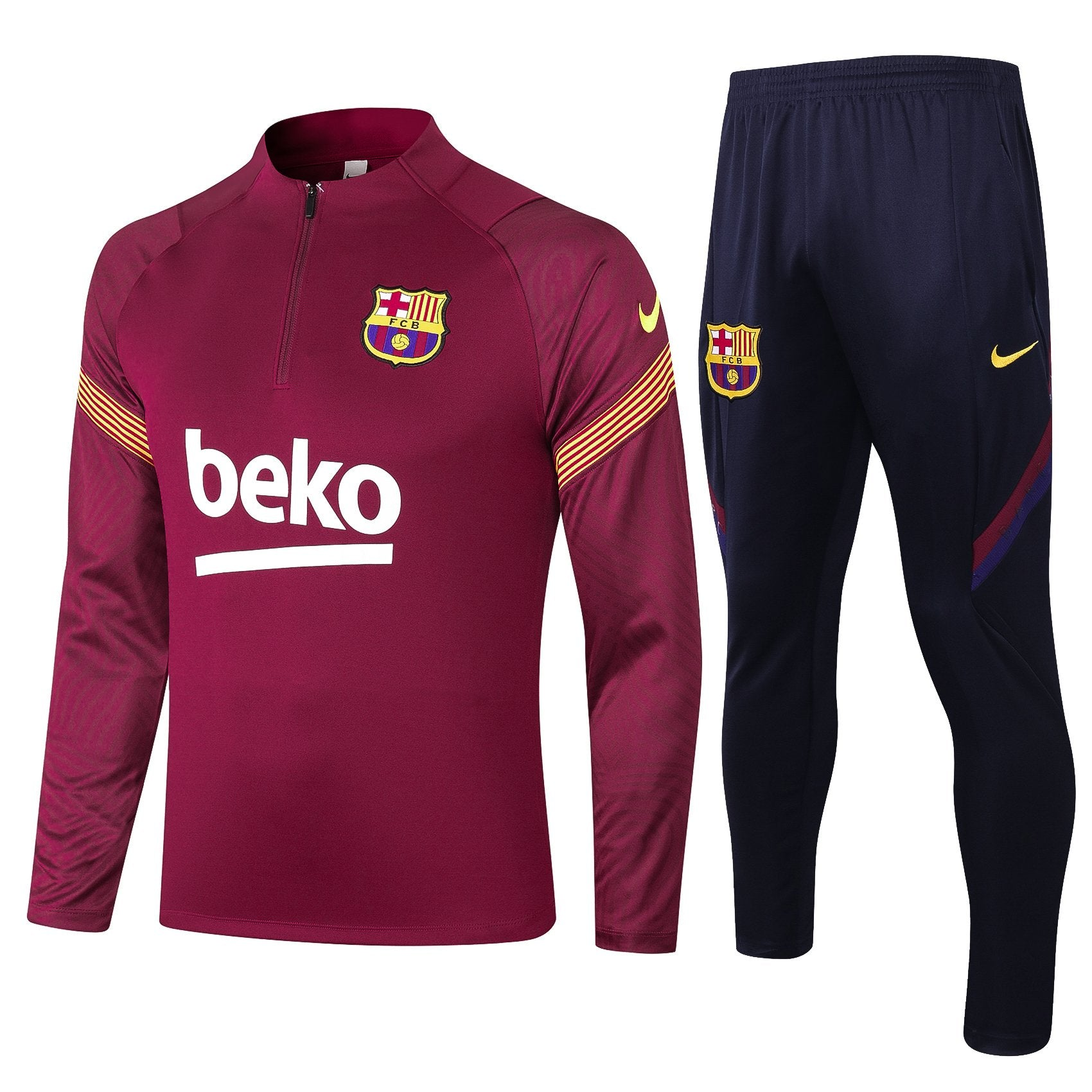 Survetement FC Barcelone Nike 2021 Junior/Enfant Foot Online freeshipping - Foot Online