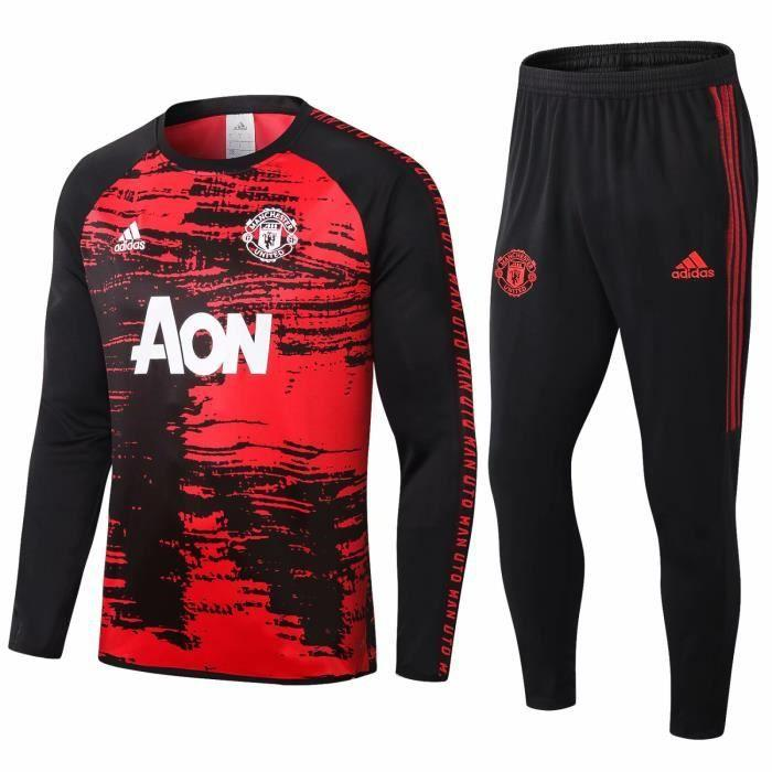 Survetement Manchester United Adidas 2021 Homme Foot Online freeshipping - Foot Online