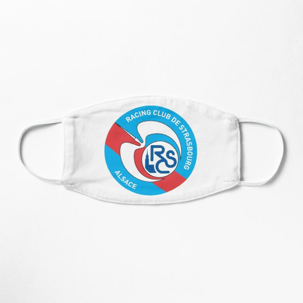 RC Strasbourg Masque Football 2020 freeshipping - Foot Online