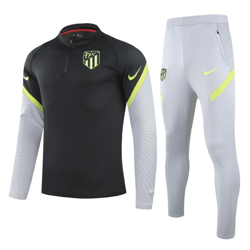 Survêtement Atletico Madrid Nike Gris 2021 Homme Foot Online freeshipping - Foot Online