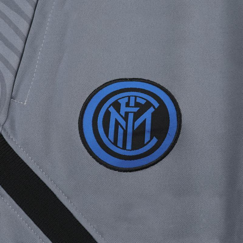 SURVETEMENT INTER MILAN GRIS 2021 HOMME SOCCER CENTER