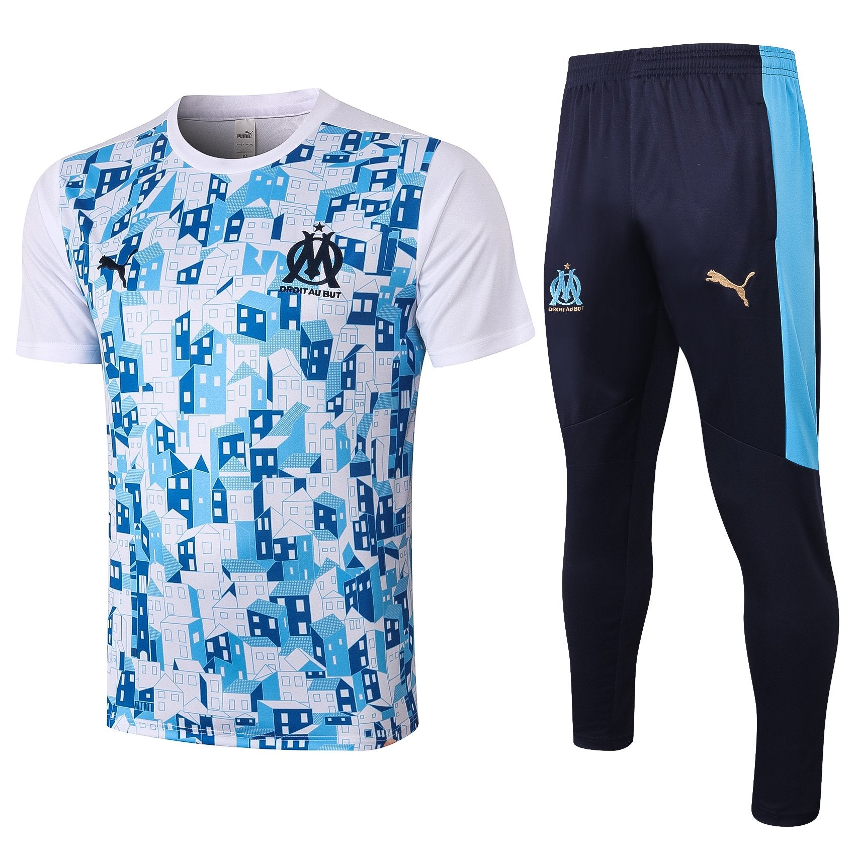 Maillot/Pantalon Entrainement Marseille OM Foot 2021 Homme freeshipping - Foot Online