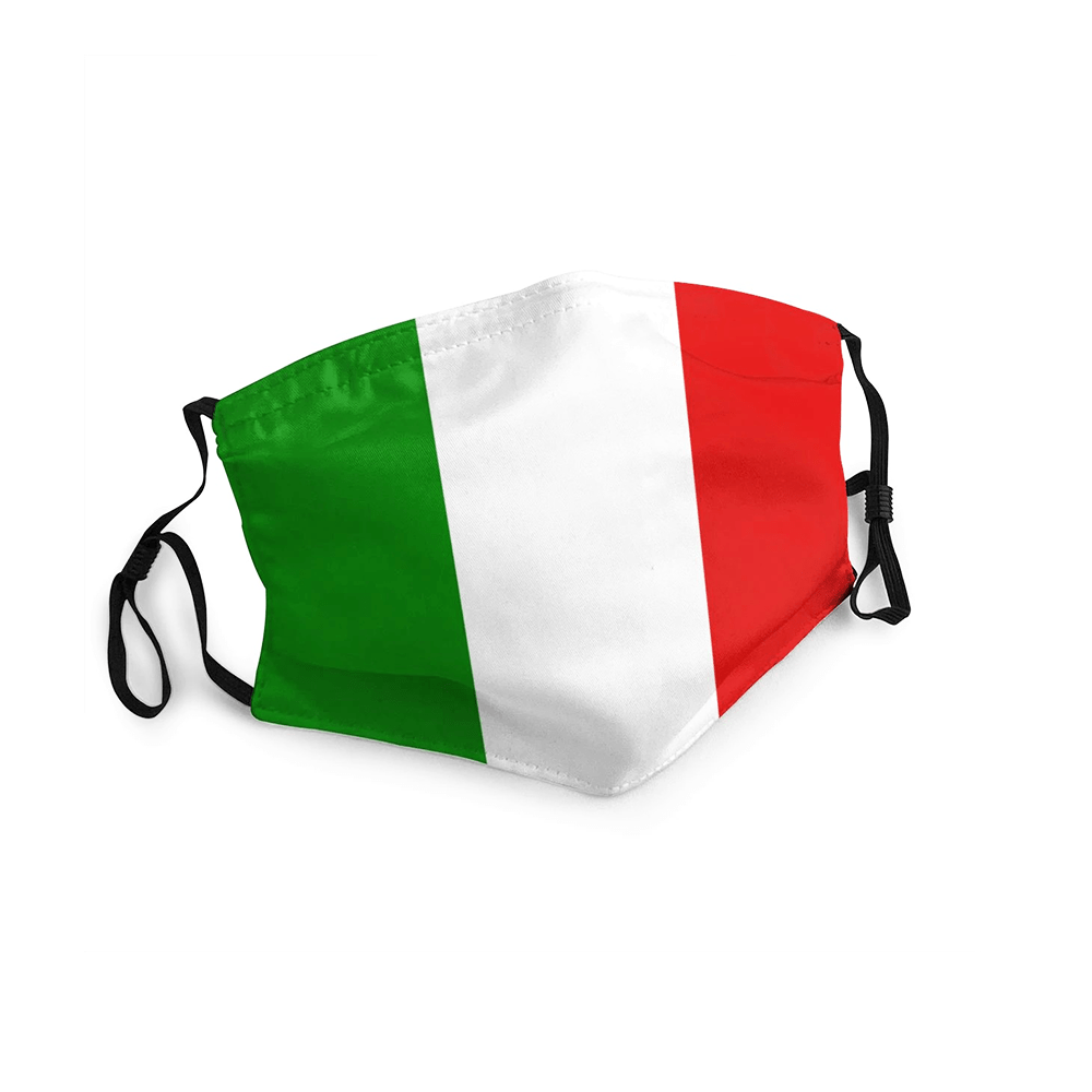 Italie Masque Drapeau 2020 Adulte/Enfant freeshipping - Foot Online
