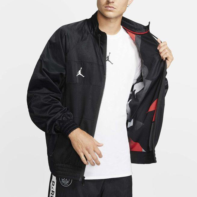 COACH JACKET PSG X JORDAN 2020 JUMPMAN SOCCER CENTER