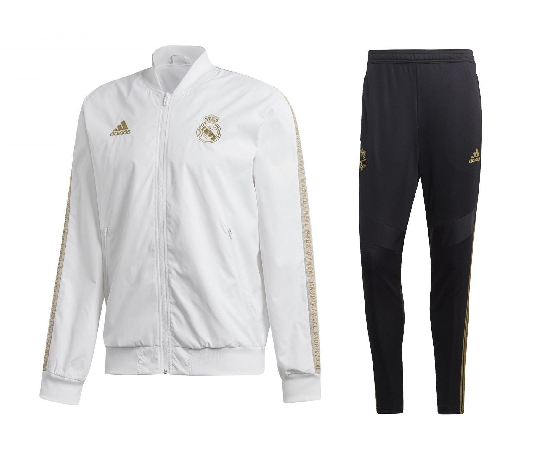 Survetement Real Madrid CF Adidas Homme 2019/20 Foot Online freeshipping - Foot Online