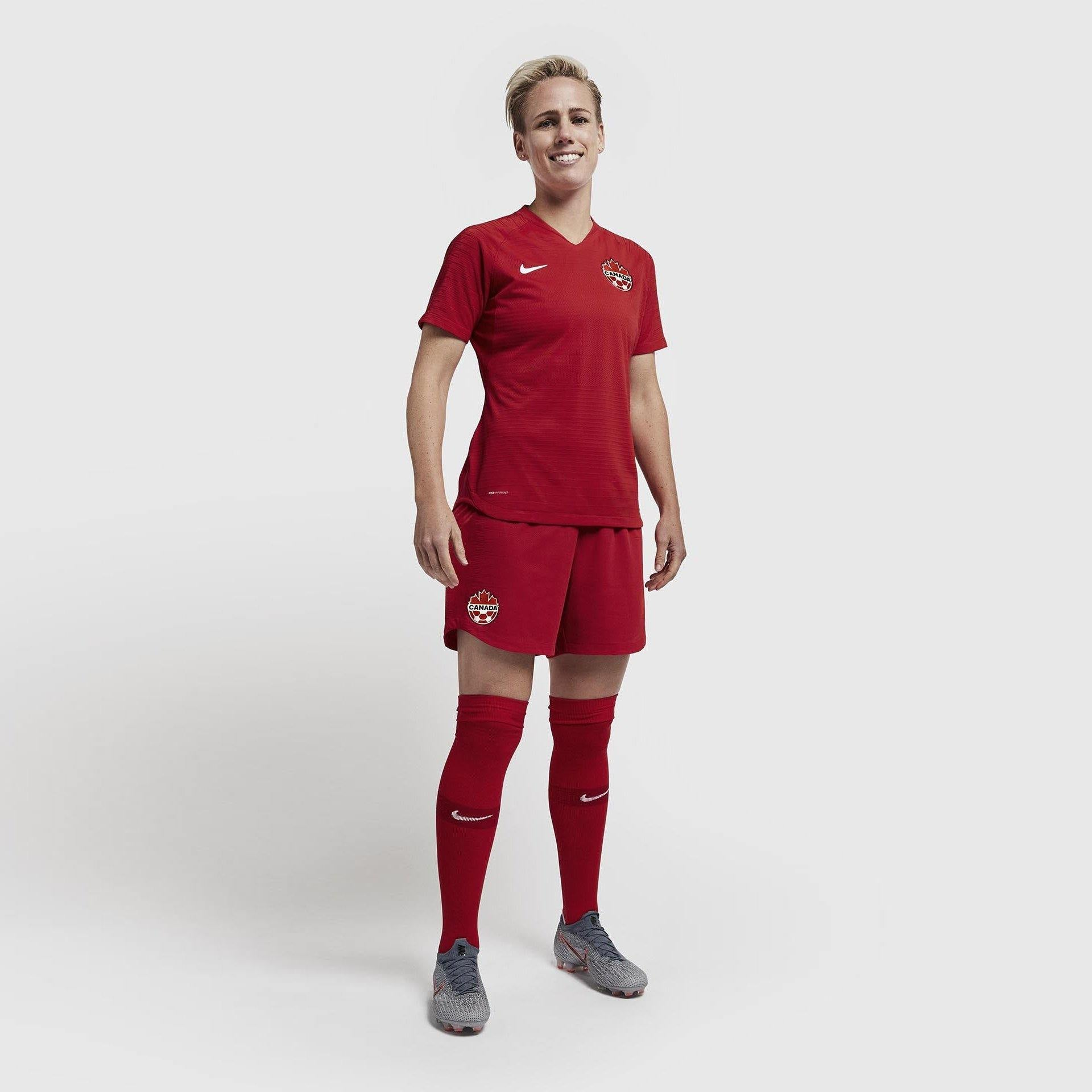 Maillot Femme Canada 2020 Nike Football Foot Coupe Du Monde freeshipping - Foot Online