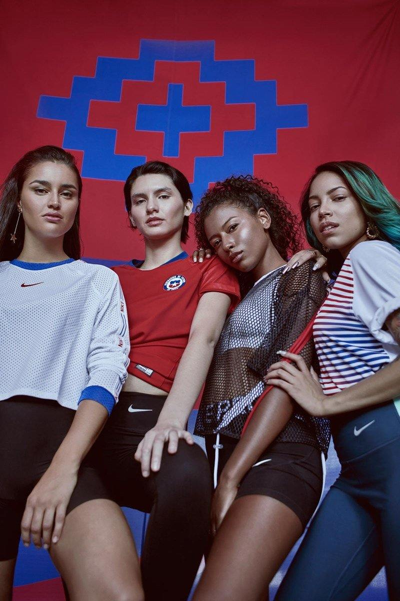 Maillot Femme Chili 2020 Nike Football Foot Coupe Du Monde freeshipping - Foot Online