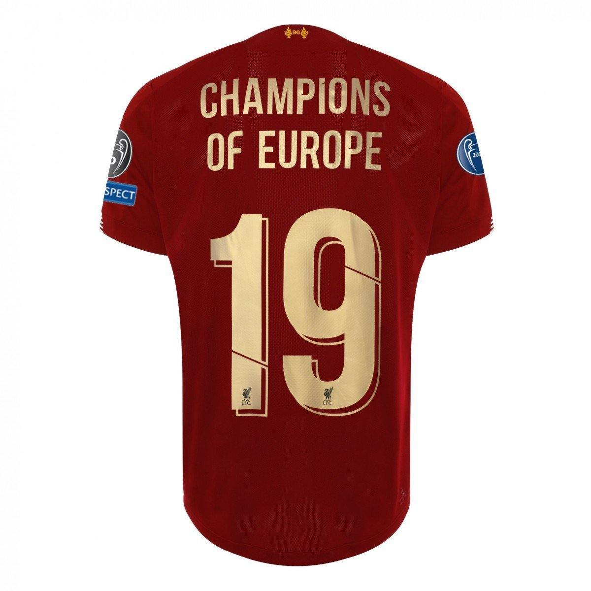 Maillot Liverpool UEFA Champions League 2020 Homme NB freeshipping - Foot Online