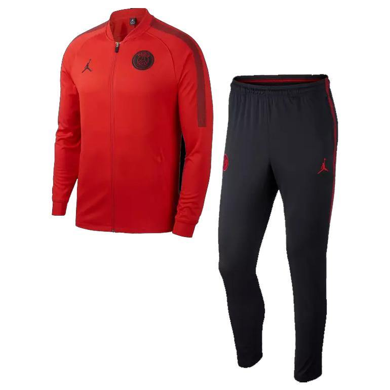Survetement PSG X Jordan Rouge Homme 18/2019 Soccer Center
