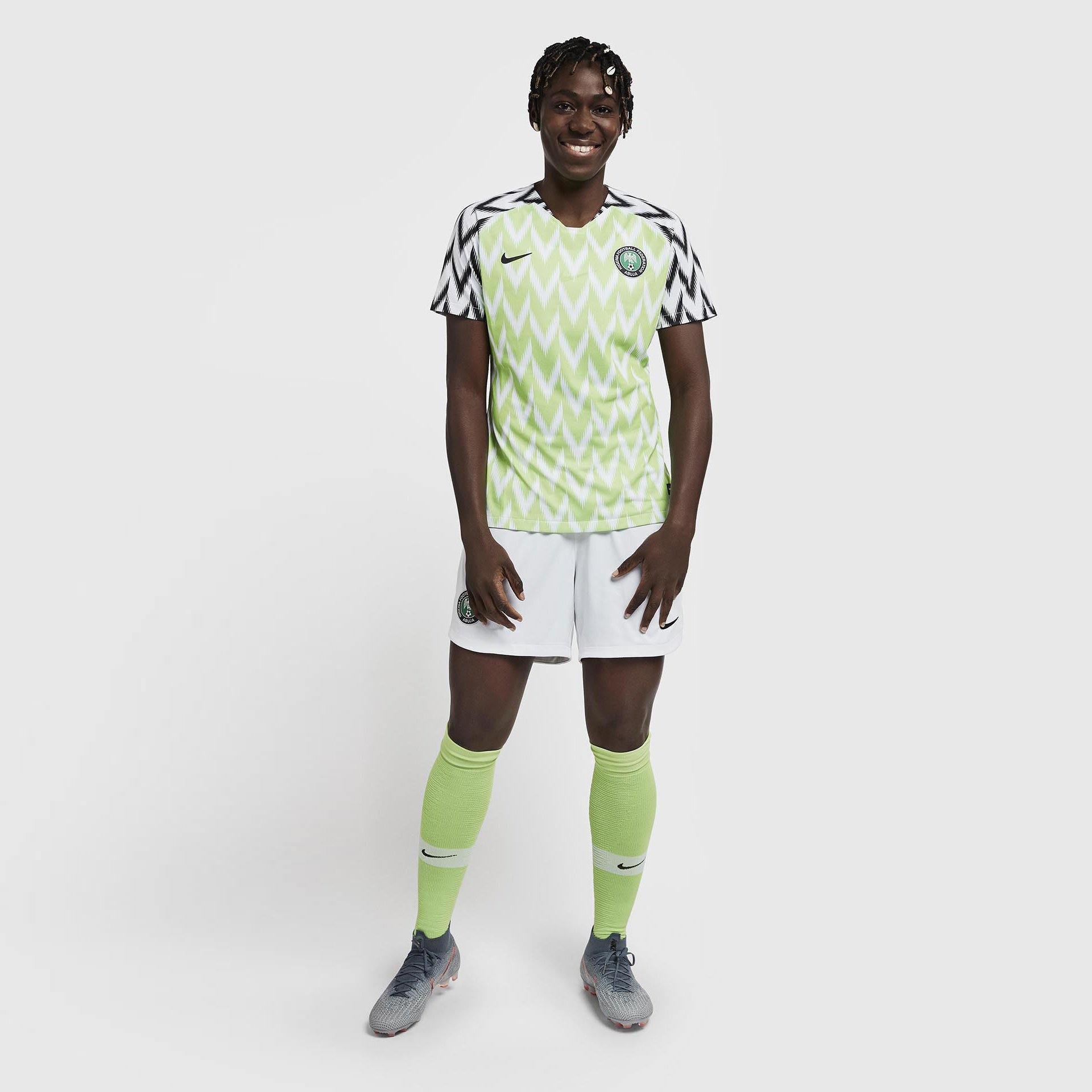 Maillot Femme Nigeria 2020 Nike Football Foot Coupe Du Monde freeshipping - Foot Online