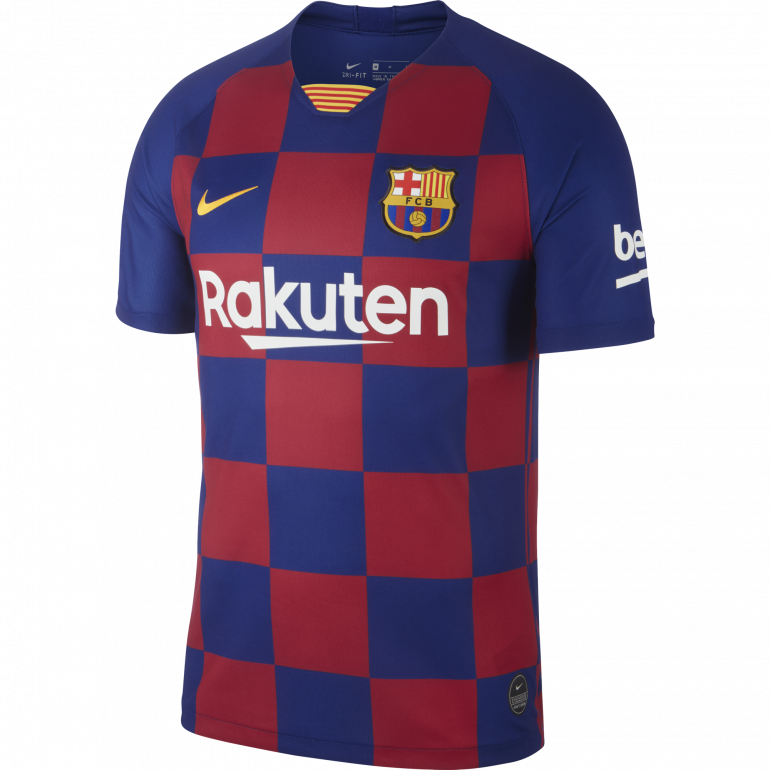 Maillot FC Barcelone Domicile 2020 Homme Foot Nike freeshipping - Foot Online